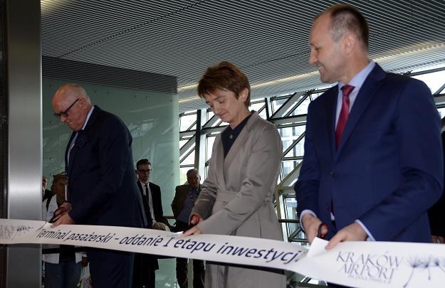 Nowy terminal na krakowskim lotnisku już otwarty /Rynek Kolejowy