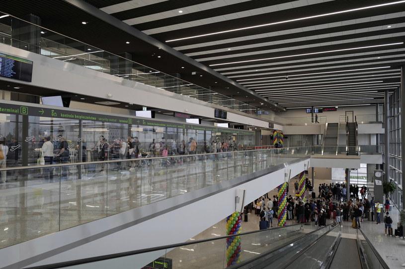 Nowy terminal w Międzynarodowym Porcie Lotniczym Katowice /PAP