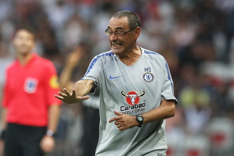 Nowy trener Chelsea Maurizio Sarri /AFP
