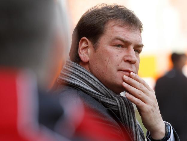 Nowy trener KGHM Zagłębia Lubin Jan Urban fot: Grzegorz Hawałej /PAP
