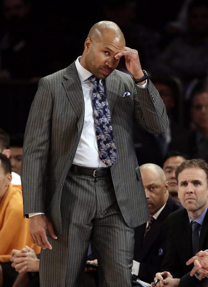 Nowy trener New York Knicks Derek Fisher /PAP/EPA