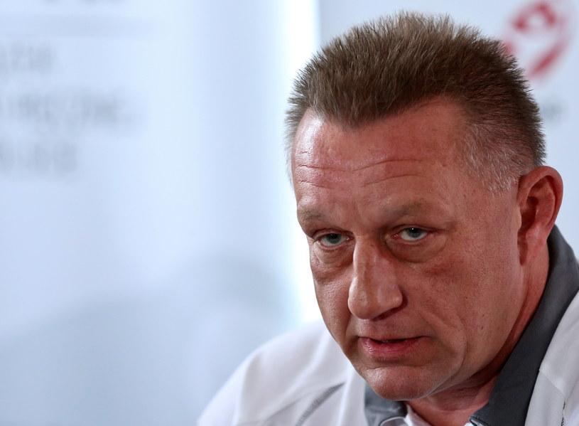 Nowy trener reprezentacji Polski piłkarzy ręcznych Michael Biegler /Rafał Guz /PAP
