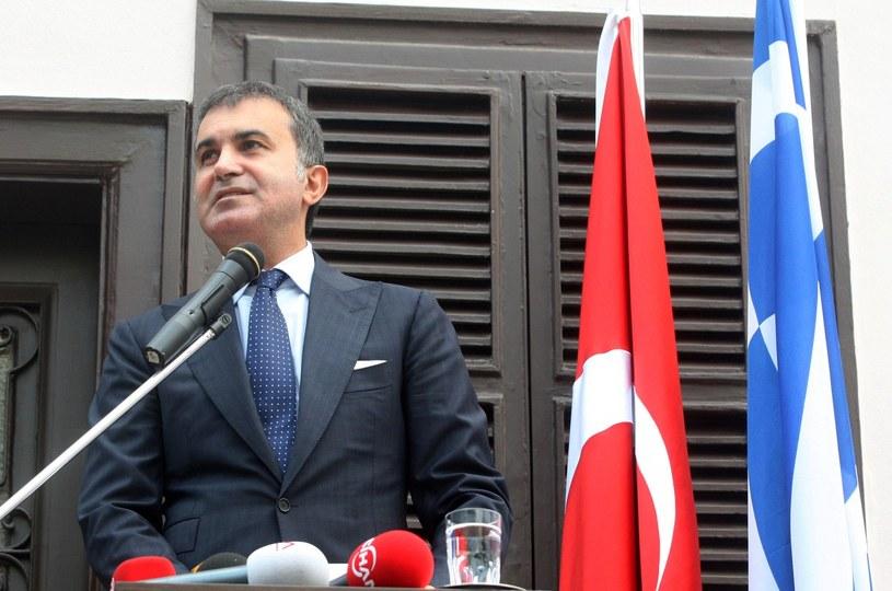 Nowy turecki minister ds. UE Omer Celik /AFP