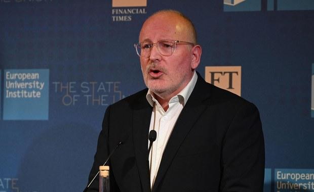 Nowy tydzień w polityce: Timmermans w Polsce, Schetyna przed komisją śledczą