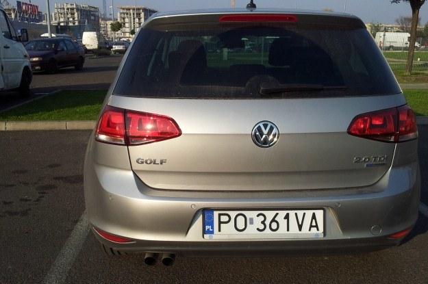 Nowy volkswagen golf VII /INTERIA.PL