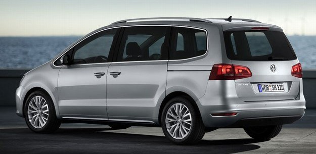 Nowy VW sharan /