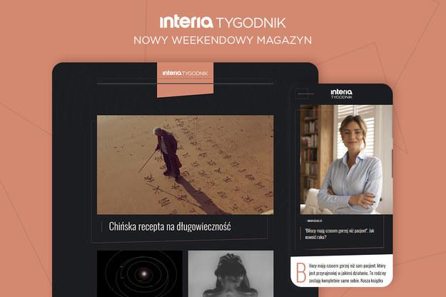 Nowy weekendowy magazyn premium Interii - Tygodnik /Interia.pl /INTERIA.PL