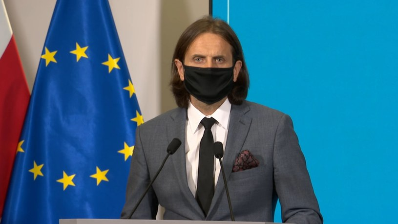 Nowy wiceminister zdrowia Piotr Bromber /Polsat News
