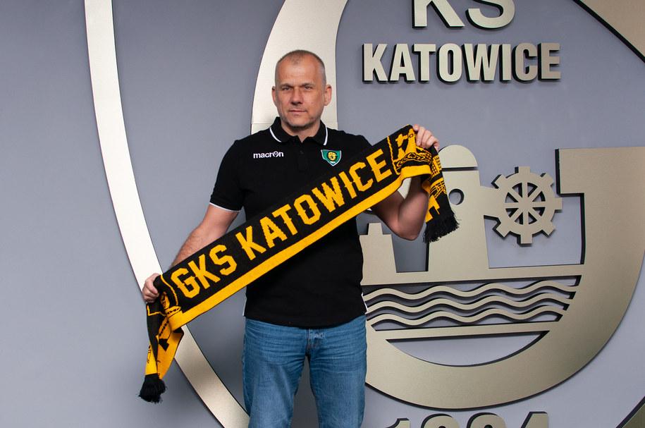Nowym trenerem zespołu z Katowic został Dariusz Daszkiewicz /GKS Katowice /