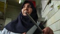 Noże, tasaki i krew to jej żywioł!