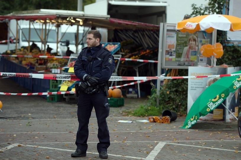 Nożownik zaatakował kandydatkę na burmistrza Kolonii /FEDERICO GAMBARINI  /PAP/EPA