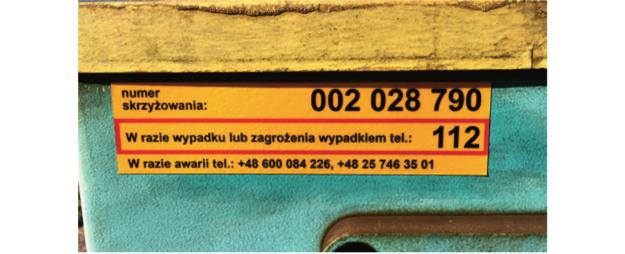 numer przejazdu kolejowego /Motor