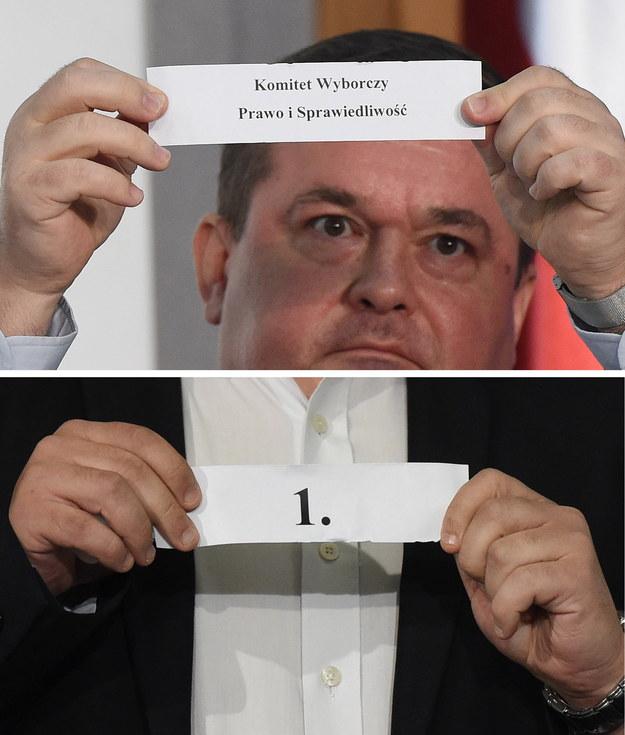 Numery list komitetów w wyborach parlamentarnych wylosowała Państwowa Komisja Wyborcza /Radek Pietruszka /PAP