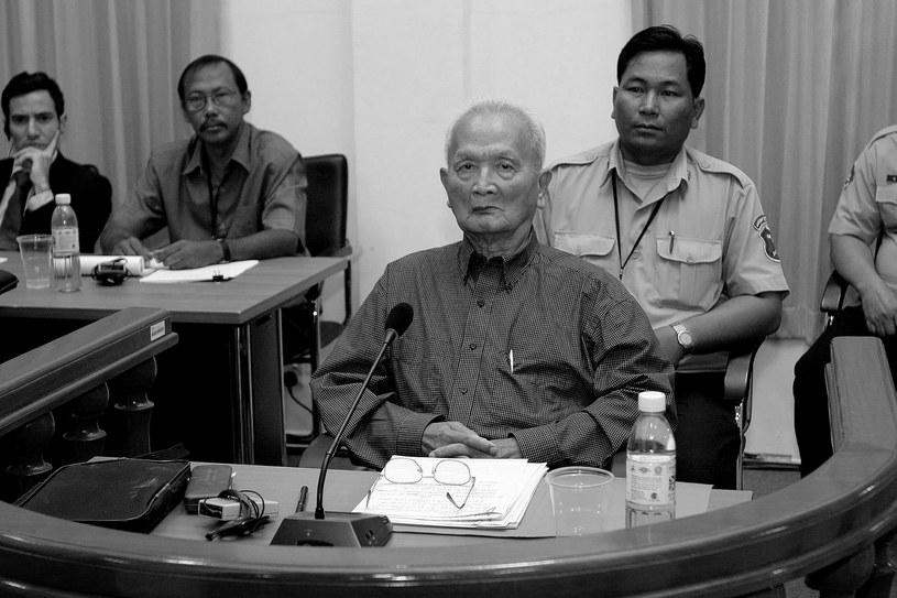 Nuon Chea /POOL TANG CHHIN SOTHY /AFP