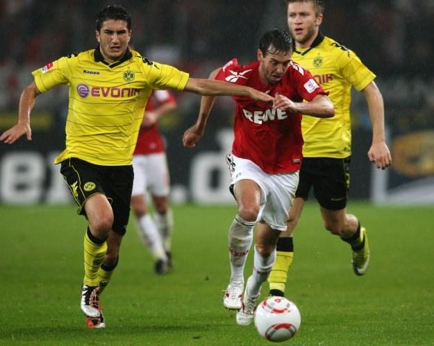 Nuri Sahin w ostatnim meczu Bundesligi z FC Koeln /AFP