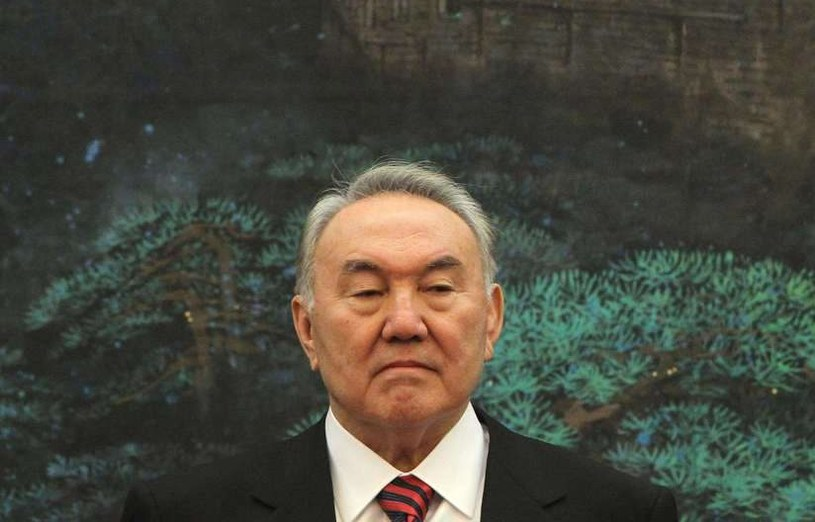 Nursułtan Nazarbajew /AFP