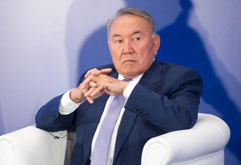 Nursułtan Nazarbajew /Bartosz Krupa /East News