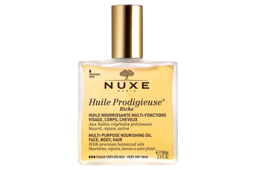 Nuxe: Olejek Huile Prodigieuse® Riche /materiały prasowe