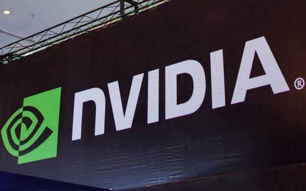 Nvidia - fragment baneru z logotypem firmy /123RF/PICSEL
