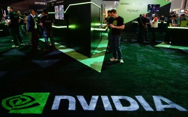 NVIDIA - zdjęcie stoiska firmy na targach E3 /AFP