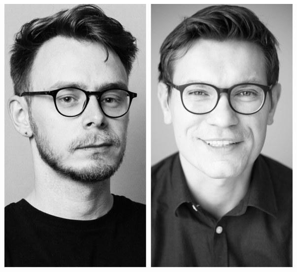 Nz. Piotr Tarczyński i Łukasz Pawłowski /Fot. Kuba Dąbrowski [PT] i Maciej Spychał [ŁP]. /materiały prasowe