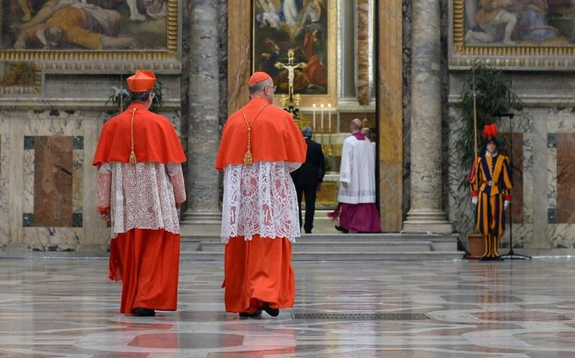 O 9.30 kardynałowie wrócą do Kaplicy Sykstyńskiej /AFP