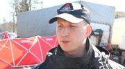 O akcji ratowniczej mówi st. kpt. Karol Kierzkowski z KW PSP w Warszawie.