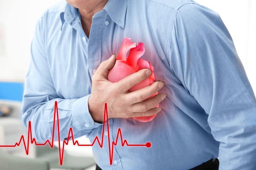 O czym świadczy kołatanie serca? /©123RF/PICSEL