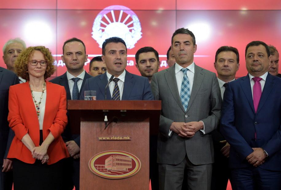 O decyzji o zmianie nazwy poinformował premier Macedonii /NAKE BATEV /PAP/EPA