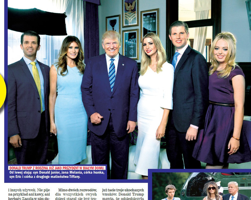 """O Donaldzie Trumpie pisze tygodnik """"Rewia"""" /Rewia"""