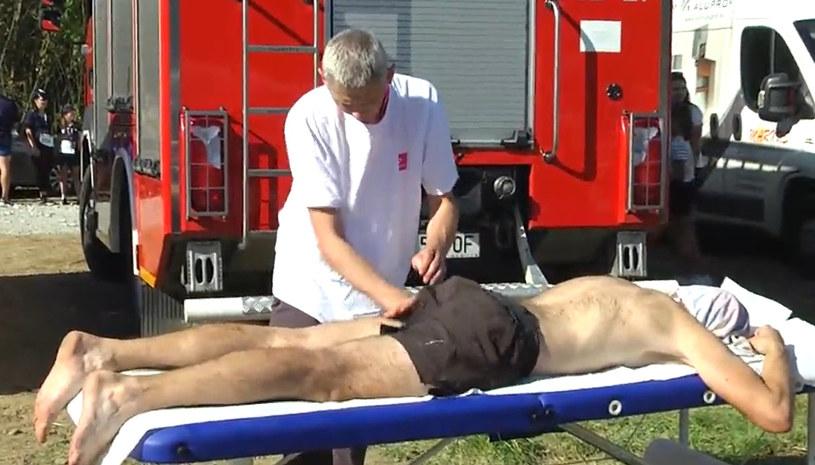 O formę biegaczy dbał sztab fizjoterapeutów i masażystów /INTERIA.PL