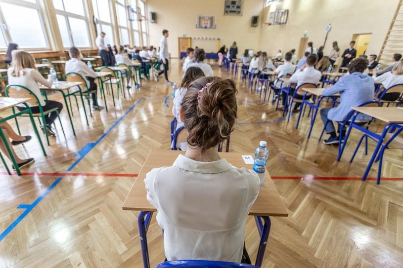O godz. 9:00 rozpoczął się egzamin ósmoklasisty 2019 /Krzysztof Kaniewski /Reporter