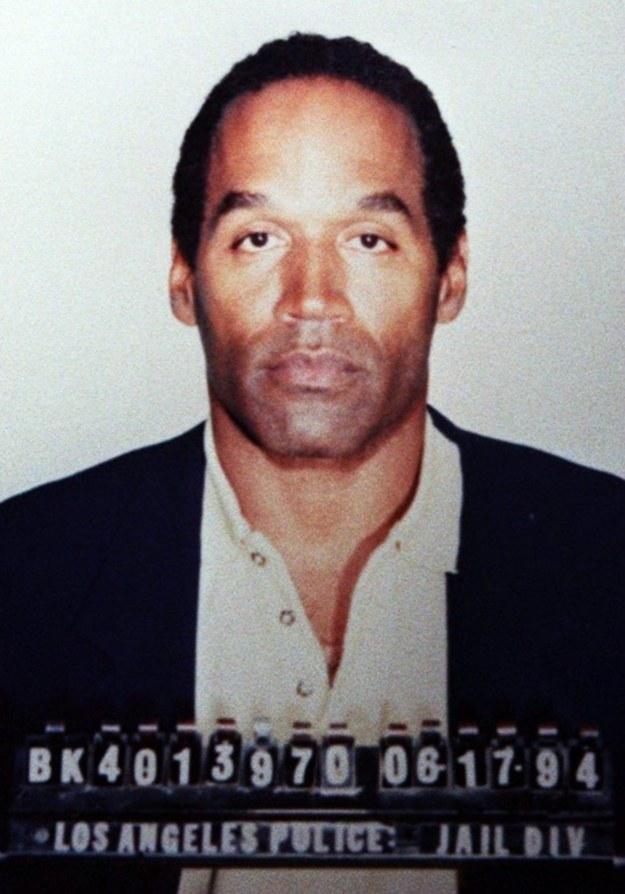 O.J. Simpson - zatrzymany po zabójstwie byłej żony i jej partnera /AFP