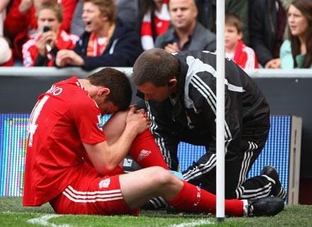 O kurczę, jak boli... /Getty Images/Flash Press Media