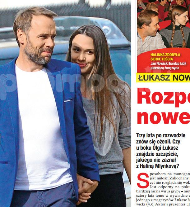 """O małżeństwie Oli i Łukasza pisze tygodnik """"Na Żywo"""" /Na żywo"""