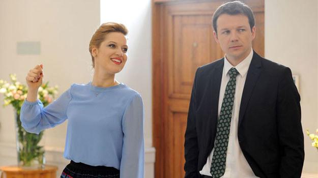 """""""O mnie się nie martw"""": Czy Joanna i Adam zdecydują się iść razem przez życie? /Agencja W. Impact"""
