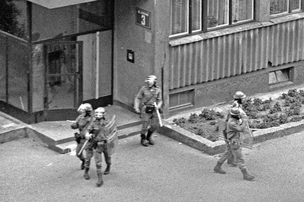 O pobicie podejrzewano zomowców /Andrzej Andrychowski i Mark Carrot /Fotonova