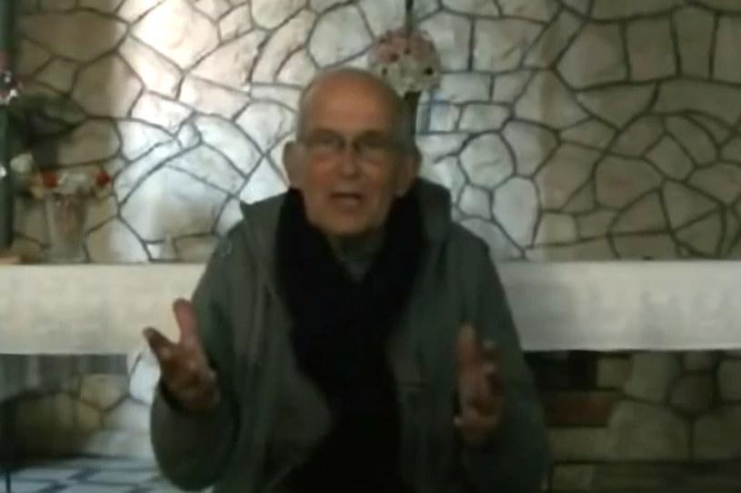 O pomoc zaapelował holenderski jezuita, ojciec Frans van der Lugt. /AFP
