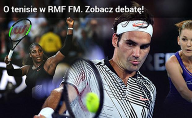 O przyszłości polskiego tenisa i gwiazdach światowych kortów. Zobacz debatę ekspertów w RMF FM!