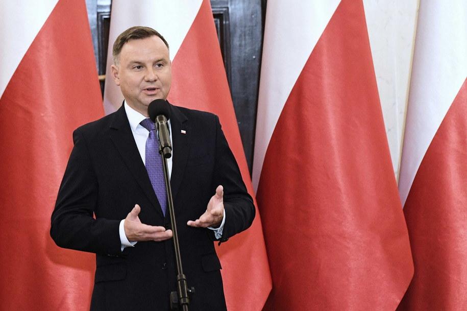 O reelekcję będzie się ubiegał prezydent Andrzej Duda / Radek Pietruszka   /PAP