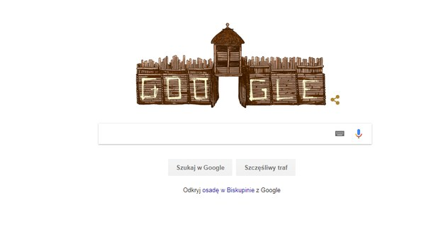 O rocznicy przypomina dziś nawet wyszukiwarka Google /Zrzut ekranu /