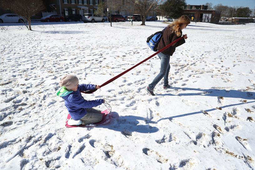 O śniegu na razie możemy pomarzyć /Joe Raedle  /AFP