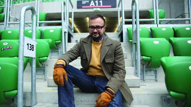 O stadionach rozmawiał będzie architekt Jakub Szczęsny /   /materiały prasowe