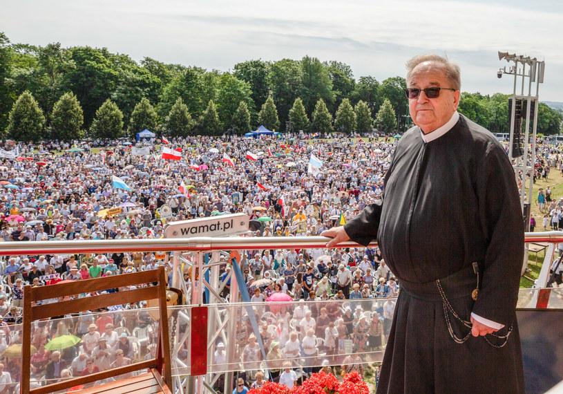 O. Tadeusz Rydzyk podczas 30. Pielgrzymki Radia Maryja na Jasną Górę /Karol Porwich /East News