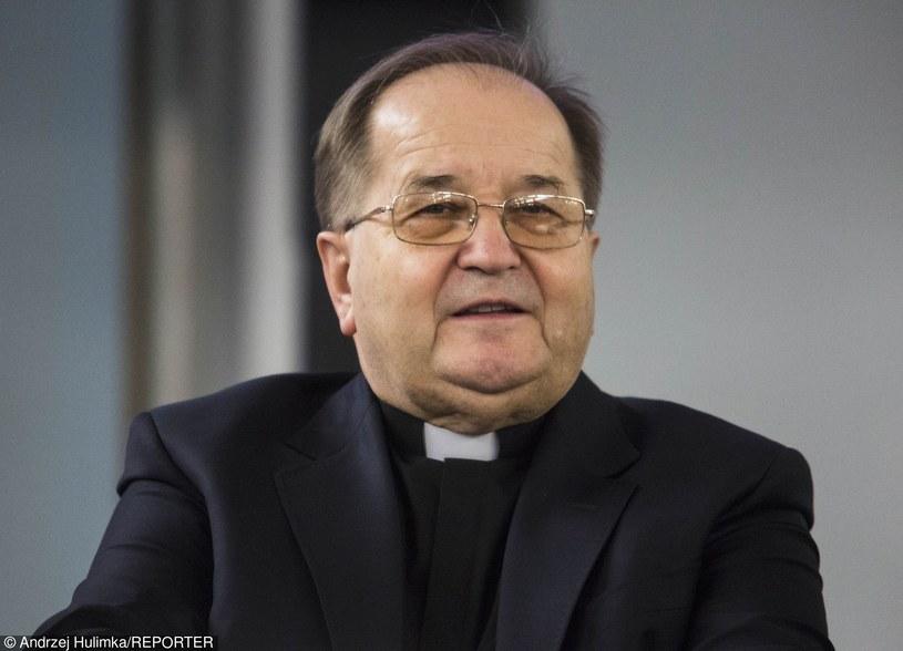 O. Tadeusz Rydzyk związany jest z Radiem Maryja i Telewizją Trwam /Andrzej Hulimka/Reporter /Reporter