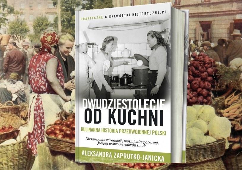 """O tym, jak czasy Wielkiego Kryzysu przetrwali Polacy dowiesz się dzięki nowej książce Aleksandry Zaprutko-Janickiej """"Dwudziestolecie od kuchni"""". Kliknij i sprawdź /INTERIA.PL/materiały prasowe"""