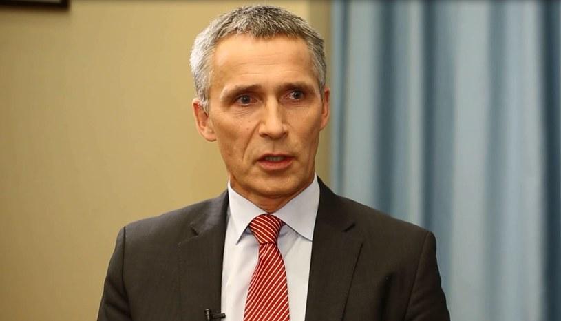 O udział Polski w nowej misji apelował dzisiaj w Warszawie Sekretarz Generalny NATO Jens Stoltenberg. /PAP