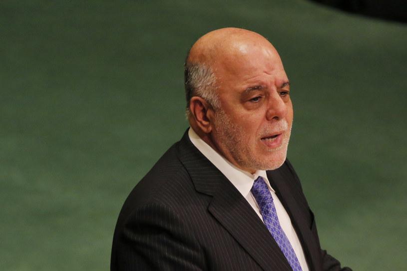 O uprowadzeniu poinformował premier Iraku Hajder al-Abadi /AFP