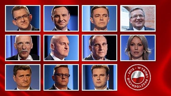 O urząd prezydenta ubiegało się 11 kandydatów /