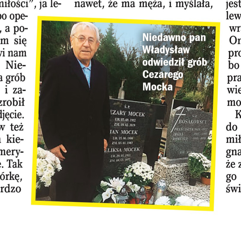 """O Władysławie Balickim pisze tygodnik """"Życie na Gorąco"""" /Życie na gorąco"""